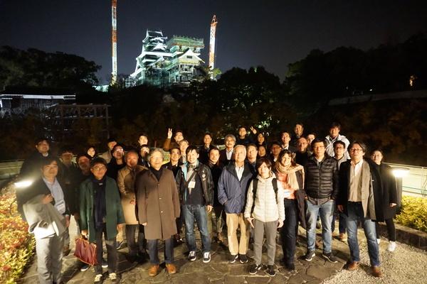 KU-KAIST at Kumamoto Castle (Jan. 24)