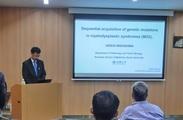 41th IRCMS Seminar 25 September, 2018 Speaker:Dr. Hideki Makishima