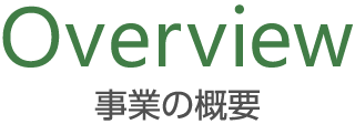 Overview 事業の概要