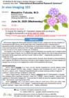 [June 24] D5 Medical & Life Science Seminar-Dr. Masahiro Fukuda