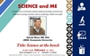 "IRCMS lecture series ""SCIENCE and ME"": 2nd Talk"